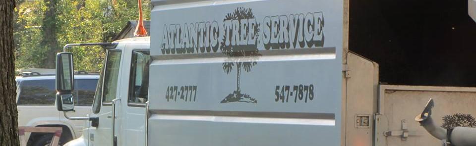 A Atlantic Tree Service Truck